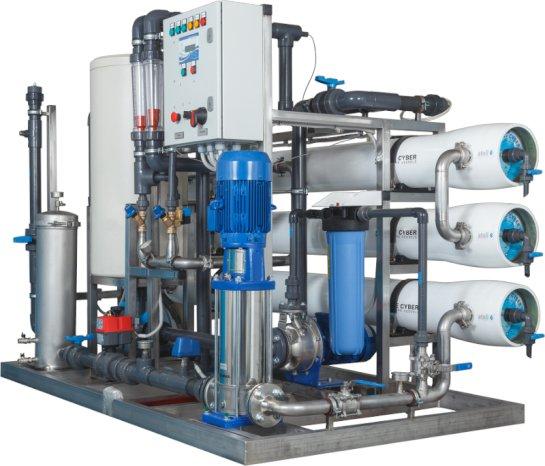 Обслуживание и ремонт промышленных систем очистки воды – индивидуальный расчет